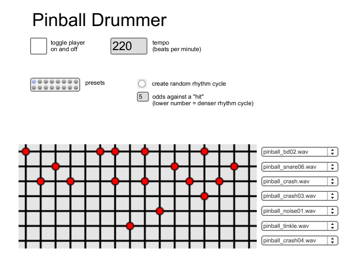 Pinball Drummer Screenshot