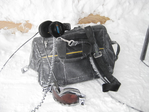 rime ice recording rig