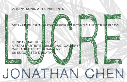 ASAC Presents Lucre & Jonathan Chen