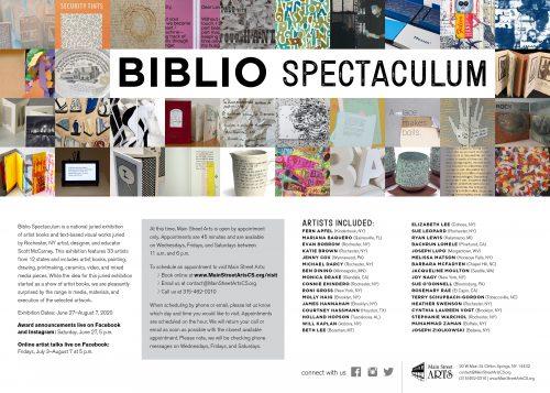 Biblio Spectaculum postcard