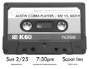 Austin Cobra Players / Bee vs. Moth poster